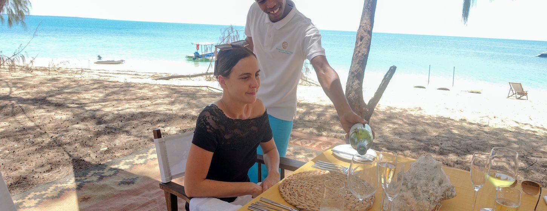 Desert Island Dining Experience Image 1