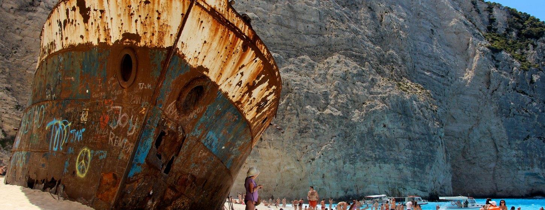 Shipwreck Beach (Navagio Beach) Image 3