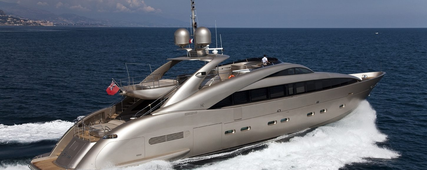 Luxury yacht Soiree as she cruises on charter in the Mediterranean