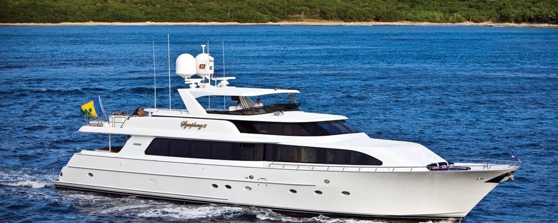SYMPHONY II cruising in the Virgin Islands