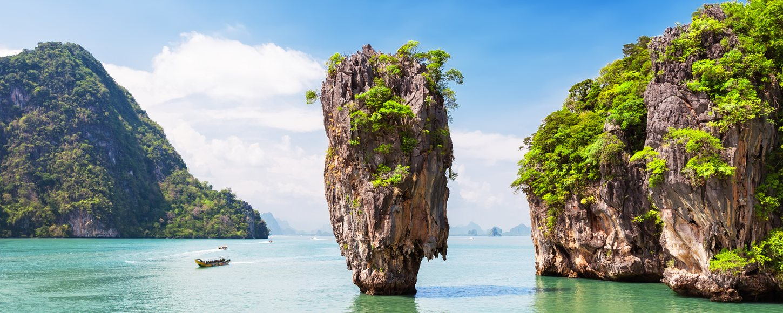 Yacht charter destination of Thailand