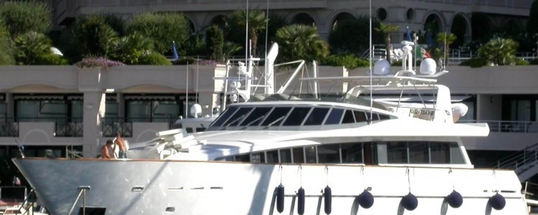 Motor yacht Sea Wish on charter in Italian harbour