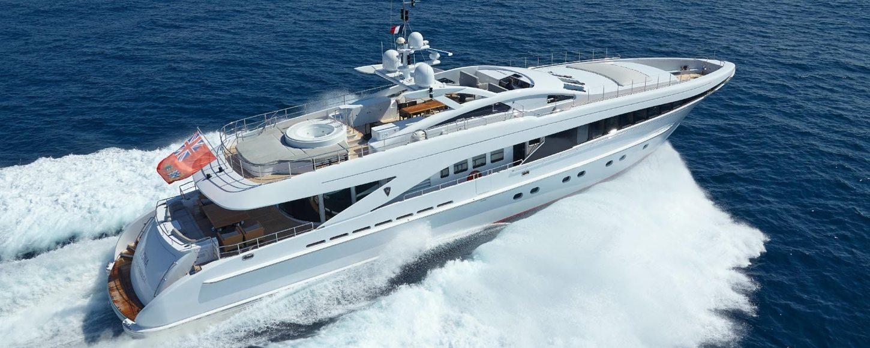 superyacht destiny cruising on charter in the mediterranean