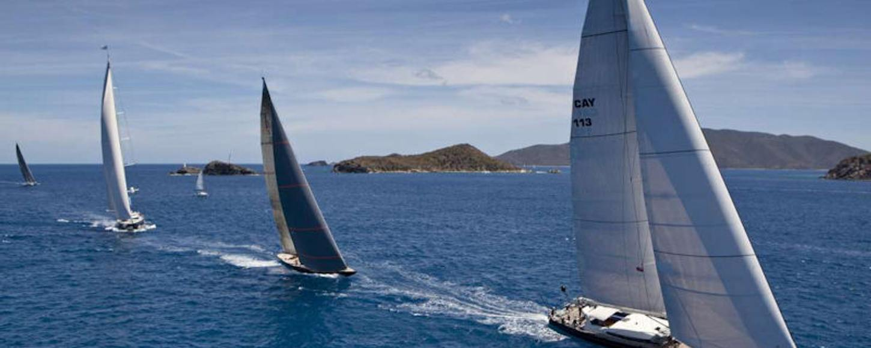 loro piana superyacht regatta & rendezvous in british virgin islands