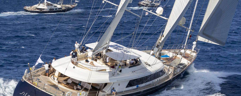 Sailing yacht SILENCIO underway