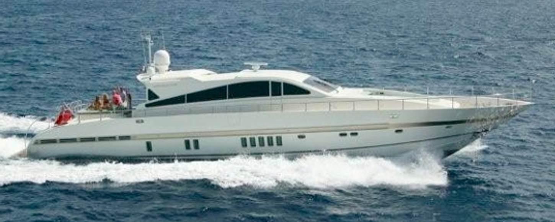 'DISCO VOLANTE' Charter Yacht cruising in the West Mediterranean