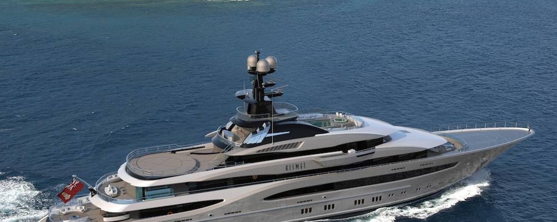 Kismet II Superyacht 3D Rendering