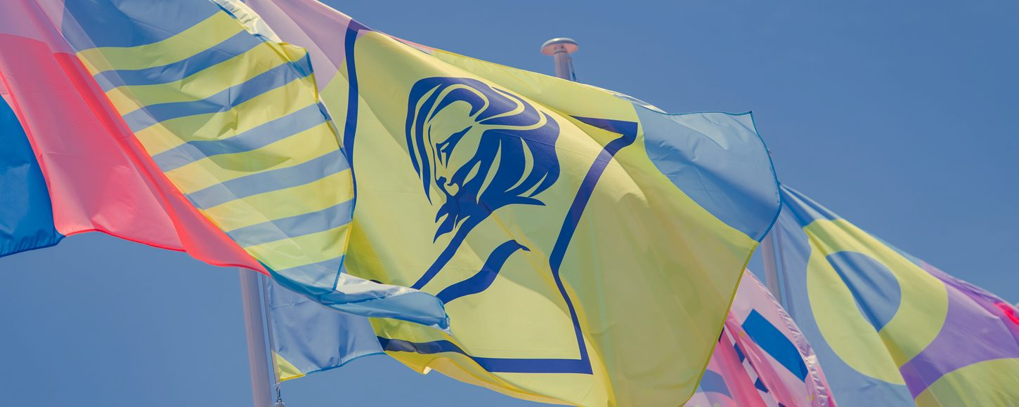 Cannes Lions flags