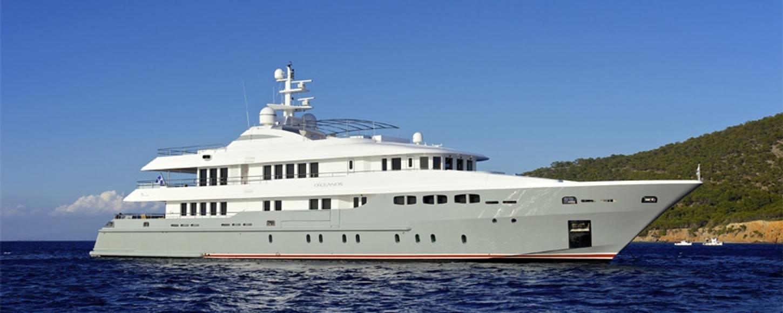 O'CEANOS cruising in the East Mediterranean