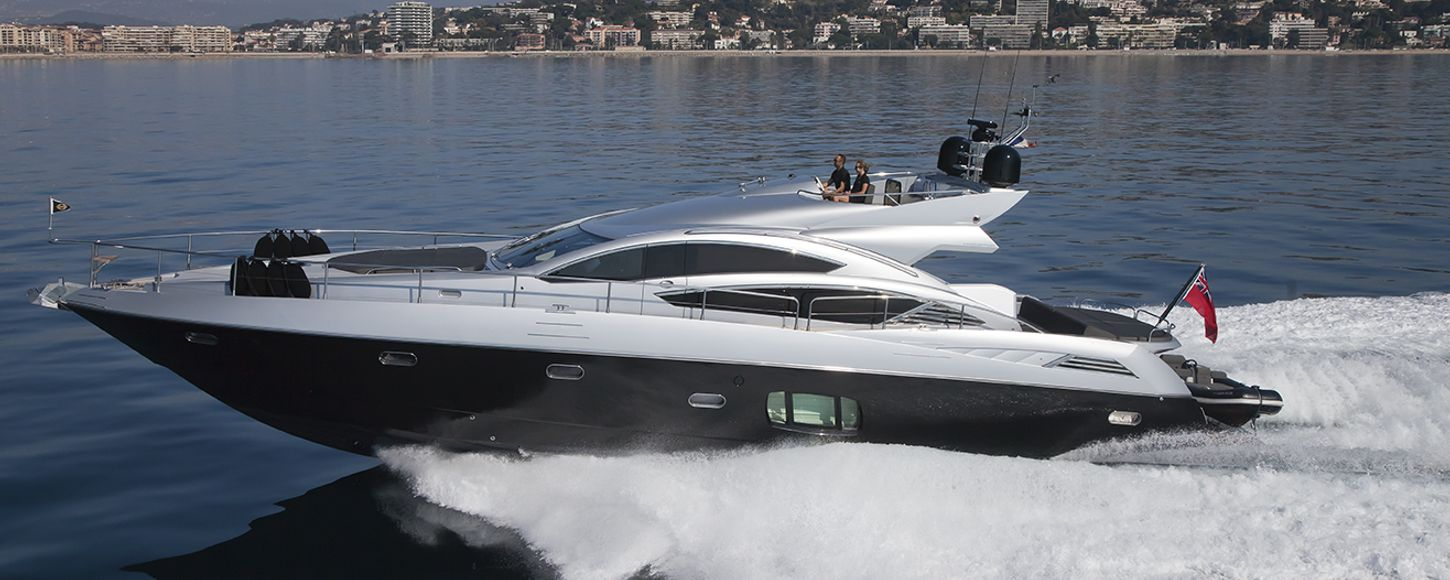 Charter yacht Aqua Blue Ireland cruising in Cannes
