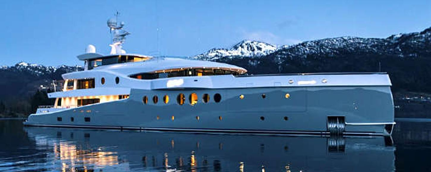 Charter yacht Event at anchor in Monaco