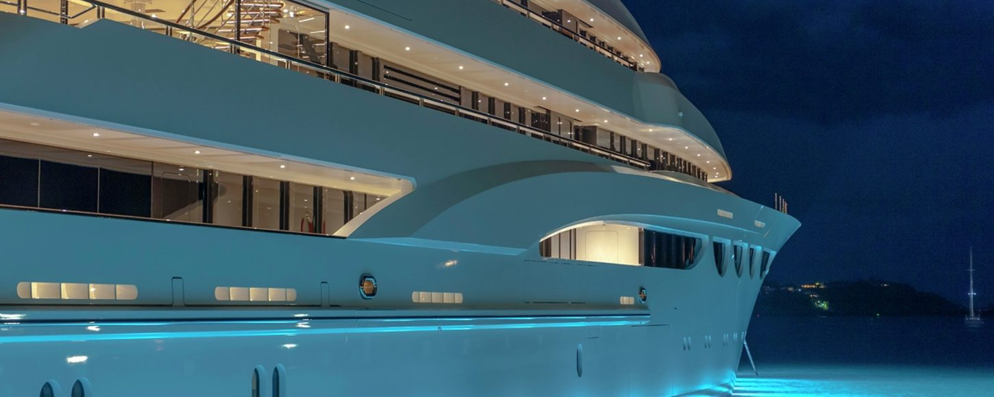 Lurssen's Quattroelle is to be on show at Monaco Yacht Show 2013