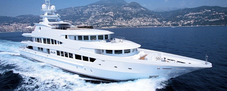 LADY LOLA cruising in the Mediterranean