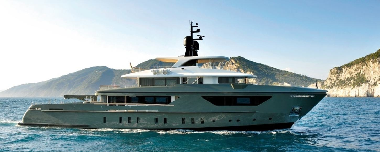 expedition yacht MOKA cruising on charter in the Mediterranean