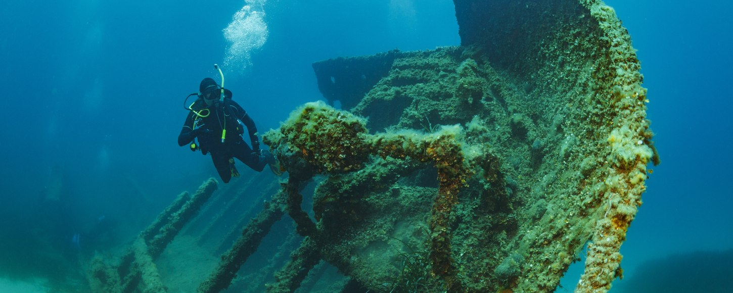 The Ultimate Guide To Wreck Diving In Greece