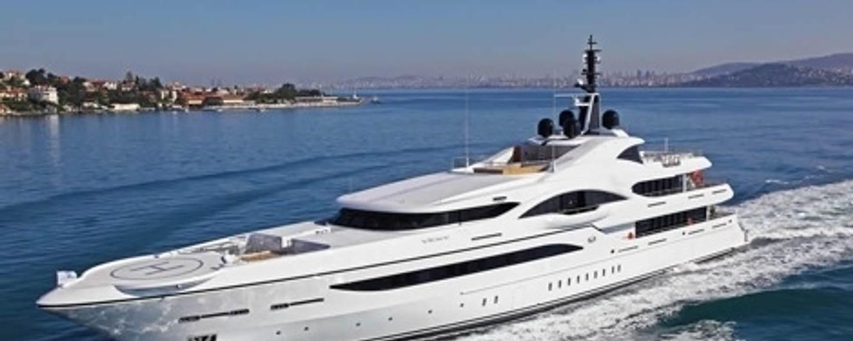 superyacht VICKI cruising on charter in the Mediterranean