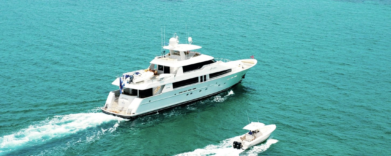 ARIOSO cruising in the Bahamas