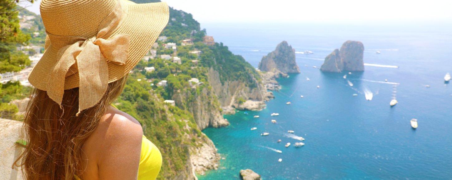 The culture of Capri: the must-see attractions on a private yacht charter