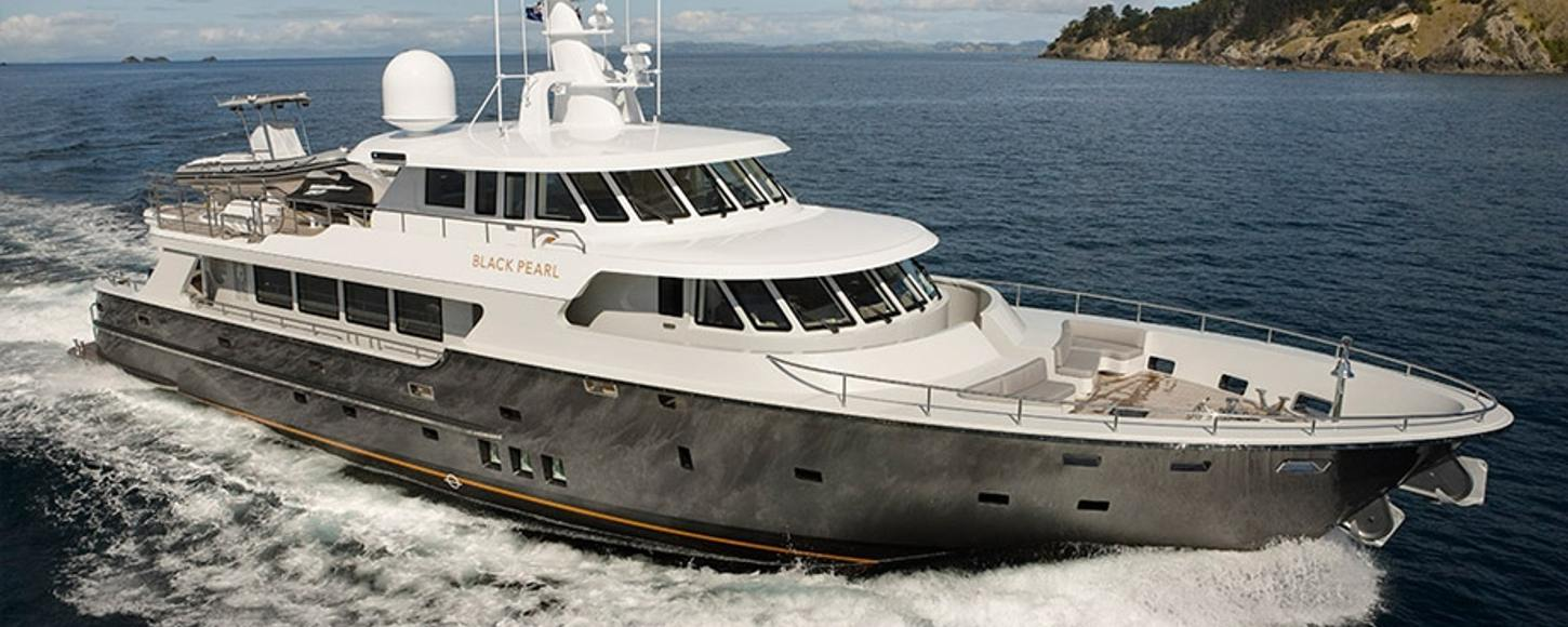 Black Pearl Available To Charter In Fiji Yacht Charter Fleet