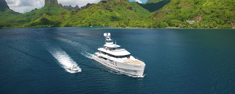 Big Fish Charter Yacht in Tahiti