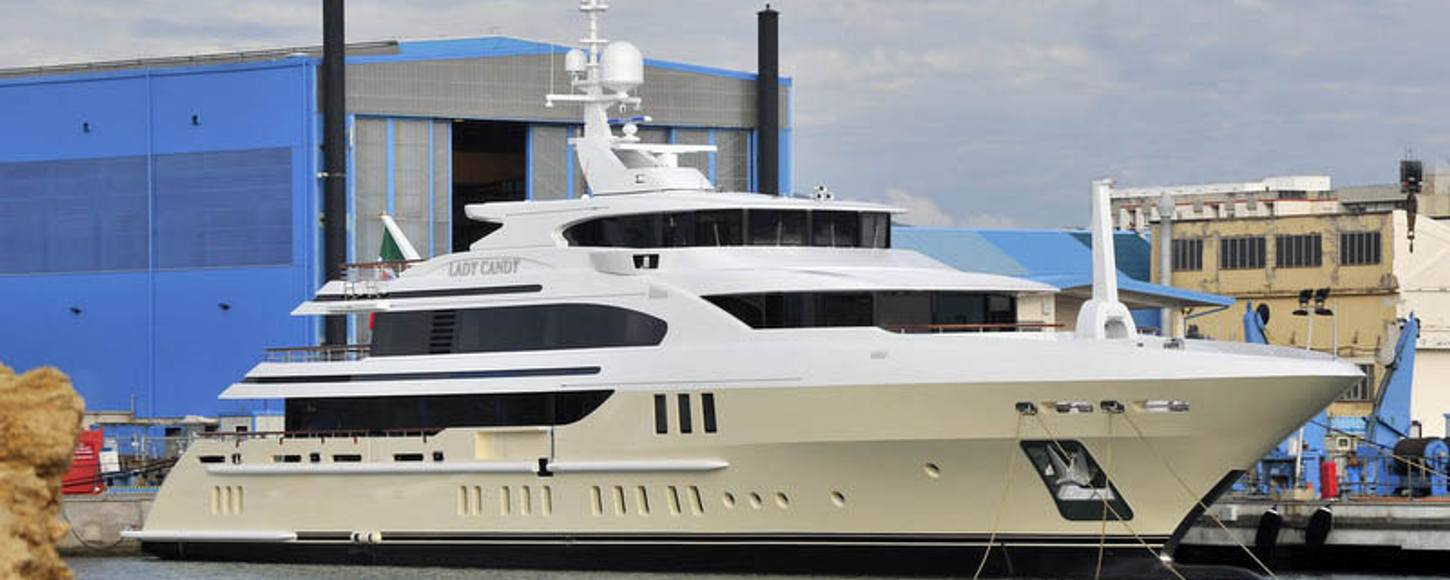 Lady Candy Yacht latest Benetti to attend MYS 2013