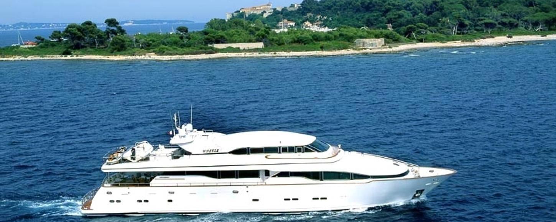 M/Y WHEELS cruising in the Western Med