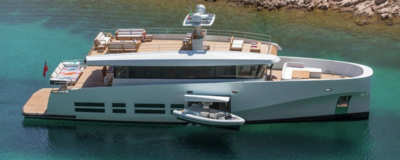 Charter yacht KANGA in the Caribbean