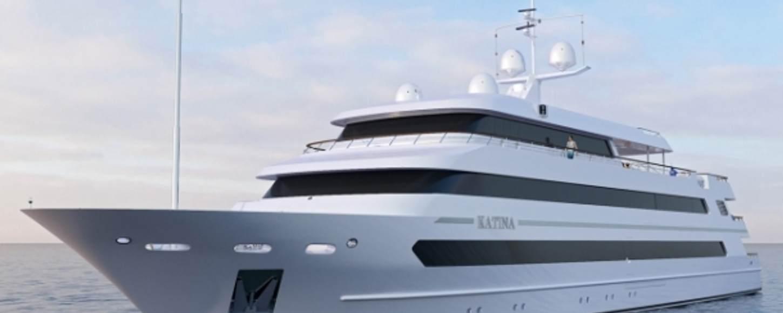 Superyacht KATINA charter yacht