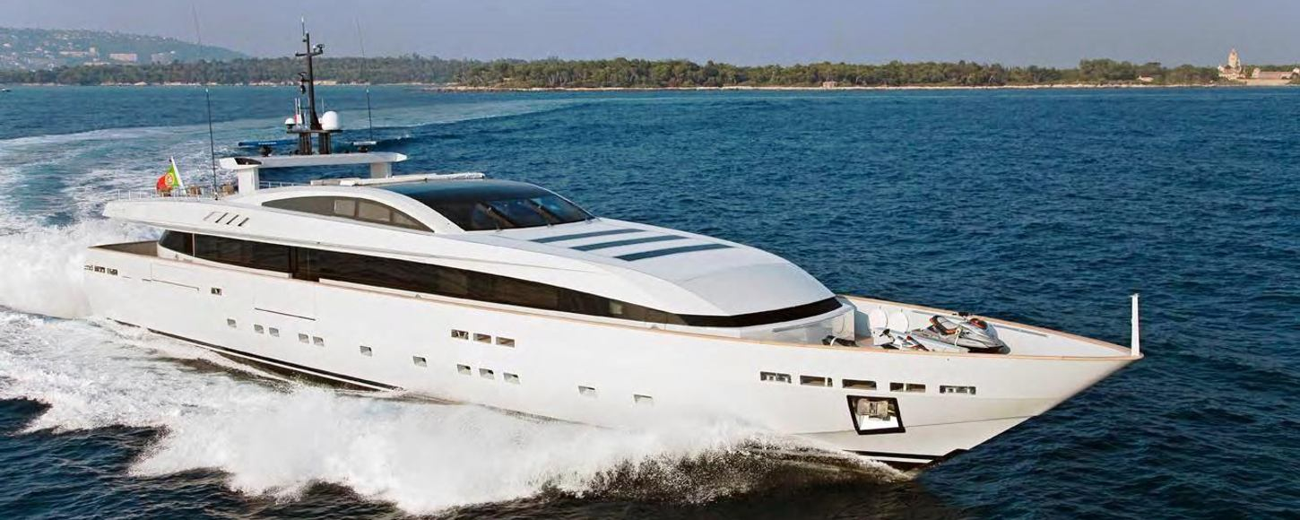 Apache II yacht for event charters in 2014