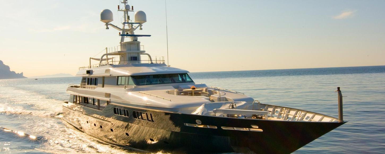 Motor yacht MARIU cruising in the East Med
