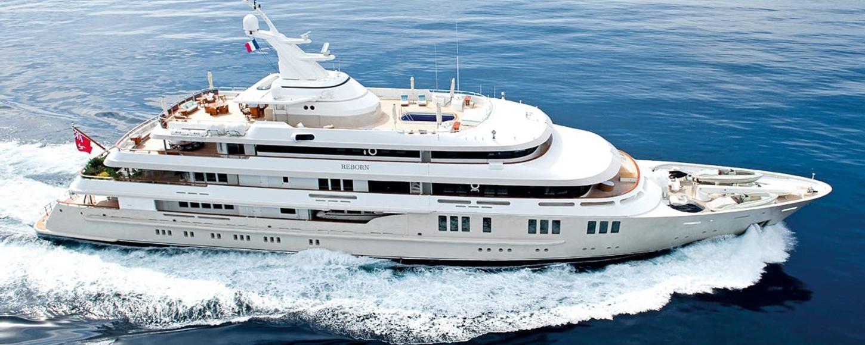 Charter yacht REBORN cruising in the Caribbean
