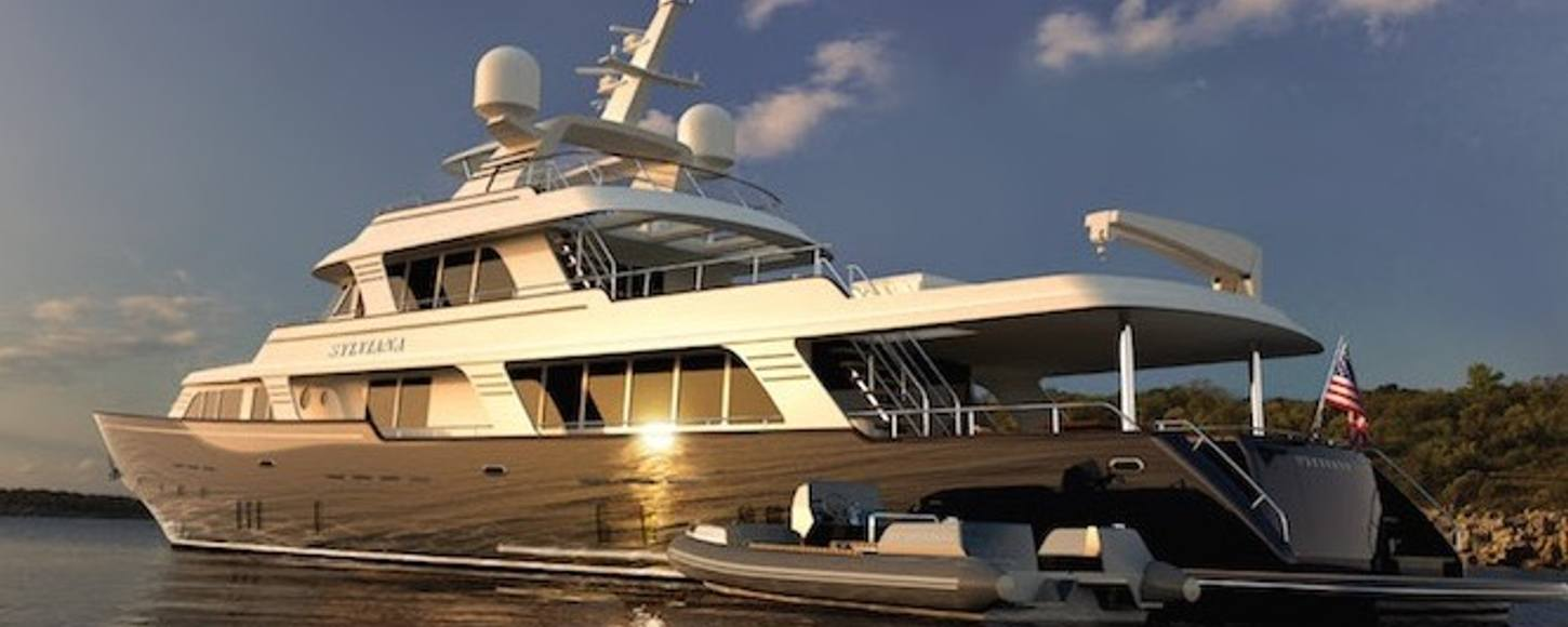 The new design of charter yacht SYLVIANA