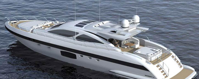 Brand new Mangusta 94 yacht