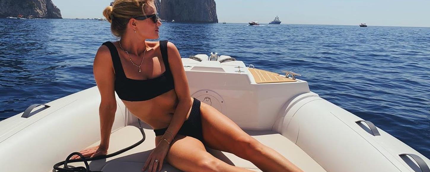 Supermodel style: How to do your Amalfi Coast yacht charter like Rosie Huntington-Whiteley
