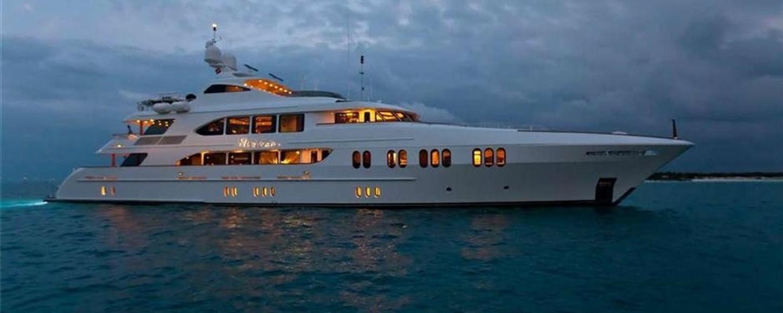 New charter yacht LA DEA II in the Mediterranean