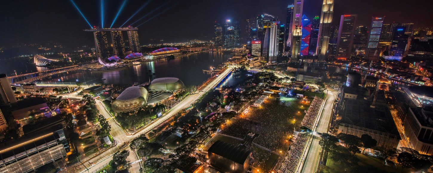 The Marina Bay Street Circuit, Singapore