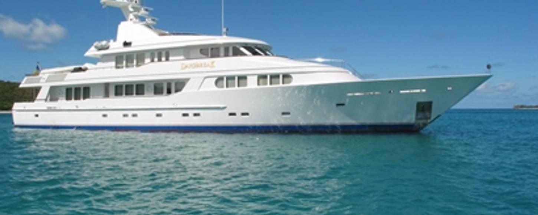 DAYBREAK cruising in the Bahamas
