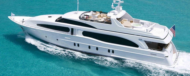 'Heritage III' yacht cruising in the Bahamas on charter
