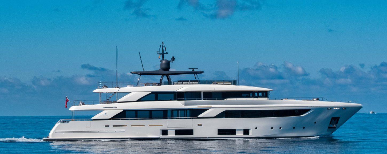 SANGHA superyacht for charter on calm sea