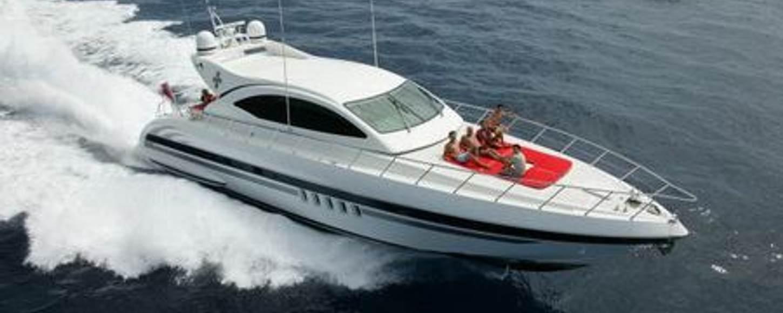 Charter yacht Lorelei cruising in the French Riviera