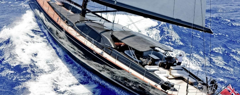 'Moonbird' sailing in the Caribbean