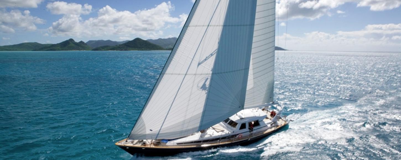 Charter yacht REE sailing in Croatia