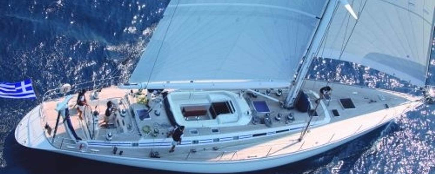 CALLISTO sailing in the Eastern Med