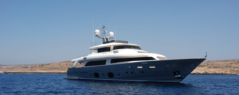 Charter yacht Seventh Sense cruising on charter in Croatia