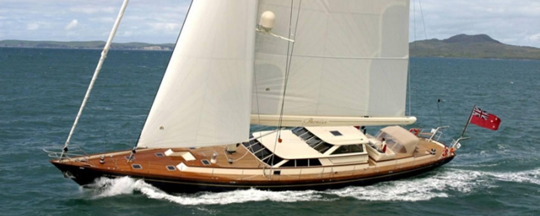 S/Y MARAE cruising in the Caribbean