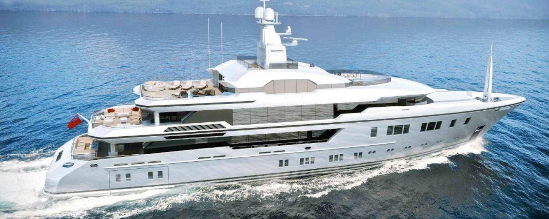 North Star yacht underway