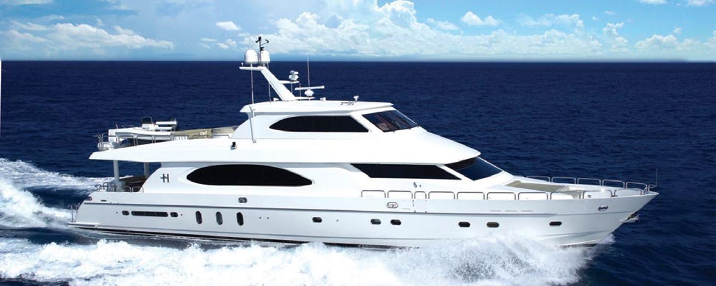 Motor Yacht Tigers Eye cruising in Florida
