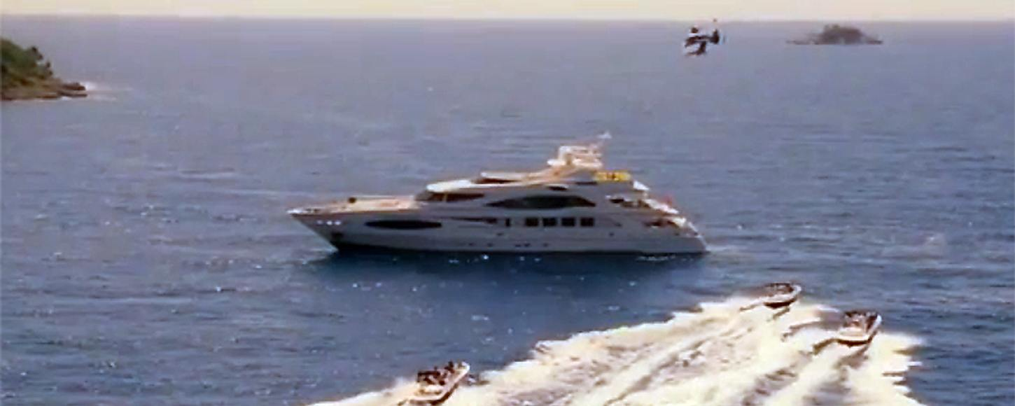 Princess Diana Movie Yacht chartered for filming famous scences