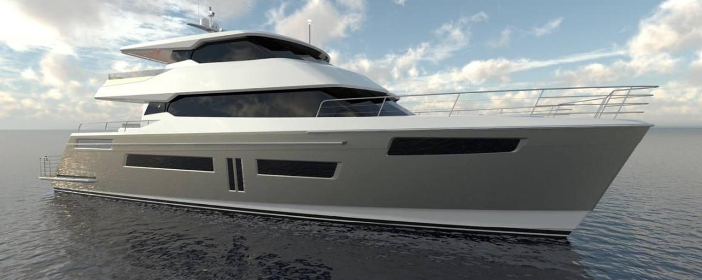 CGI image of Rua Moana catamaran
