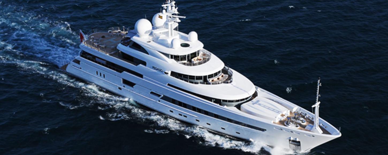 Pegaso cruising in the Mediterranean